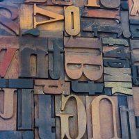 Trätyper, Grafiska Museet